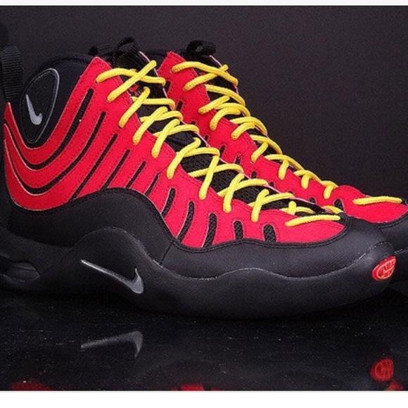 Nike Shoes | Euc Nike Air Bakin Red And